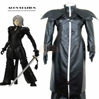 2018 ACGN STATION free shipping 3D New Final Fantasy VII Advent Children KADAJ Adult Kid Children Cosplay Brand Costumes