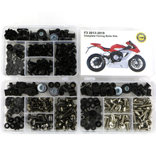 For MV AGUSTA F3 2013-2019 Complete Full Fairing Kit Motorcycle Cowling Bolt Bodywork Side Covering Screws Nuts OEM Style Steel