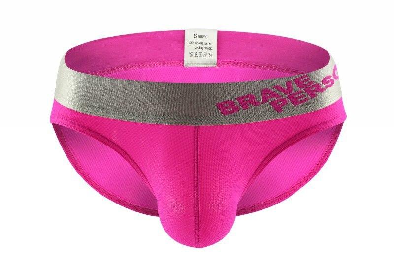 Vibrating Panties Brief Underpants Men Spandex Breathable Soft Cotton Men's Underwear Shorts Slips Cueca U Convex Male Panties