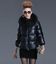 Europe Fashion Winter Women Jackets and Coats Luxury Raccoon Fur Womens Parka femme abrigos y chaquetas
