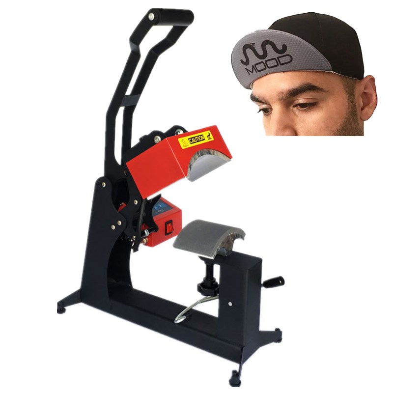 RB C142 Double Display Cap Heat Press Machine Sublimation Printer Heat Transfer DIY Baseball Cap Printing
