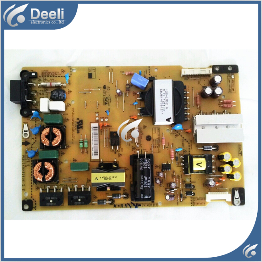 good Working original used for power supply board 50LA6970-UE BUSDLJR Power Supply EAX64908101 geckoistail 2017 new fashional women jacket thick hooded outwear medium long style warm winter coat women plus size parkas