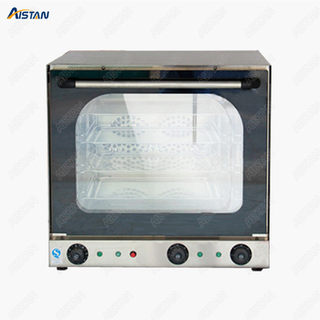 EB4A Hot sale Electric double fan Convection Oven with timer for commercial use for making bread, cake, pizza 2