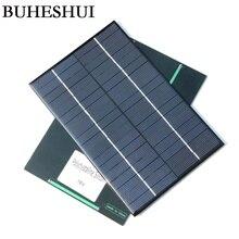 BUHESHUI 4.2Watt 18V Solar Cell Polycrystalline DIY Solar Panel For 12V Battery Charger 200x130x3MM 2pcss/lot High Quality
