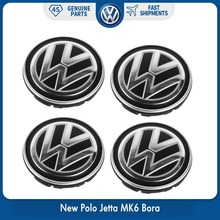 New OEM 56mm 4pcs/set Wheel Center Hub Caps Logo Badge Emblems For VW Volkswagen 6CD 601 171 XQI Polo Jetta mk6 Bora