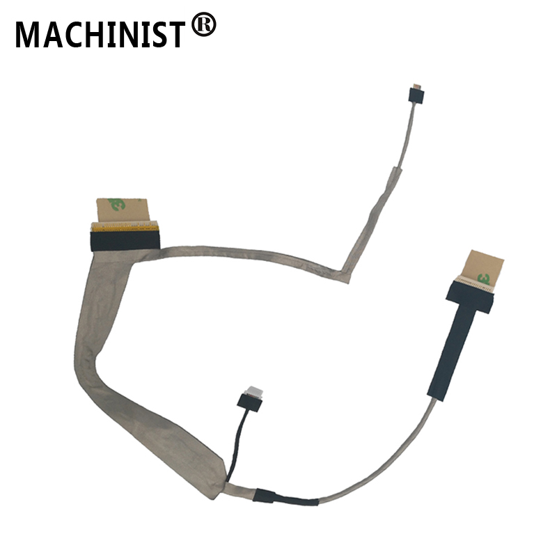 Video Screen Flex Wire For Toshiba L500 L500D L505 L505D WITH CAMERA Laptop LCD LED LVDS Display Ribbon Cable DC02000S800