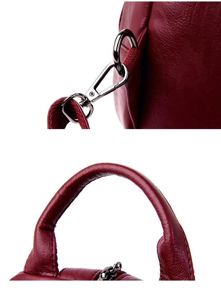 HTB1ZILFPhTpK1RjSZFKq6y2wXXaJ atinfor Brand Anti Theft Women Leather Backpacks Purse Vintage Female Shoulder Bag Travel Small Backpack Lady