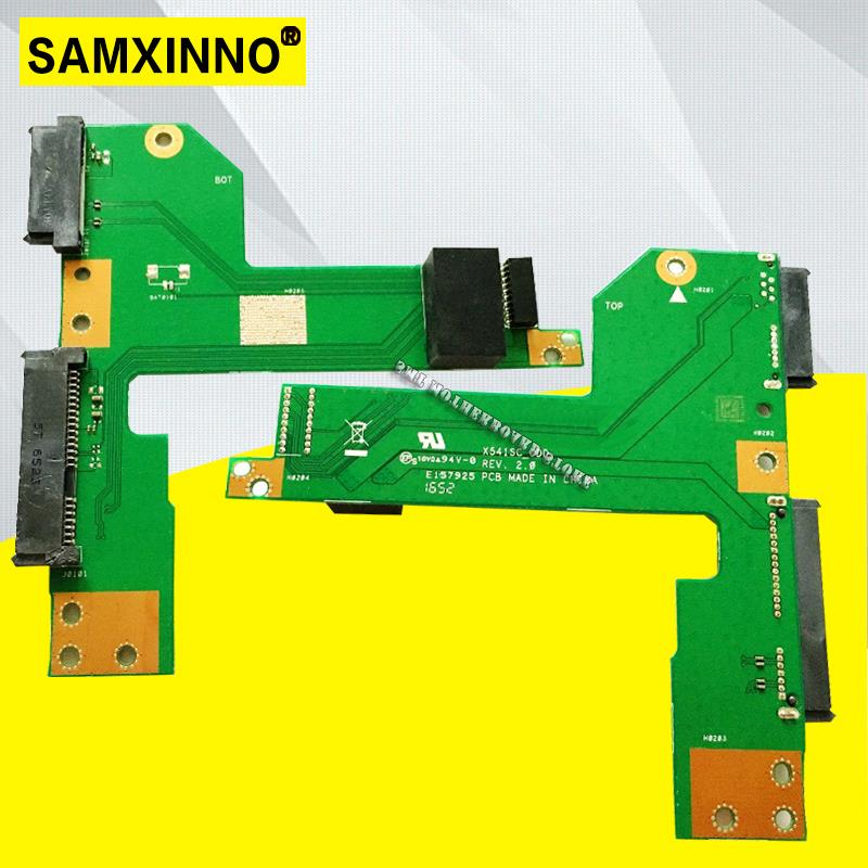 Original For ASUS X541SC HDD ODD BOARD X541SC-ODD REV 2.0