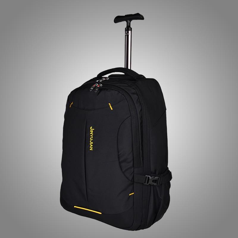 New Fashion font b Oxford b font Business Rolling Luggage Trolley Travel bag 19 inch Men