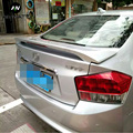 Подходит для Honda City 2009 2010 2011 2012 2013 2014 авто ABS пластик Неокрашенный задний Багажник крыло спойлер автомобильные аксессуары