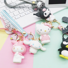 Keychain Cat Cute Bag Charm Keychain7 Styles Available Cartoon Kids Toy Pendant llaveros para mujer 2019