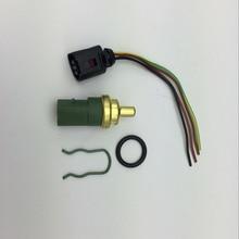 4 шт. разъем датчика температуры охлаждающей жидкости 4 Pin Набор для VW Jetta Bora Golf Rabbit GTI Passat Beetle Audi A4 A6 059 919 501 A