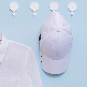 Image 4 - YouPin małe haczyki samoprzylepne/ściany wieszak na mopa silna łazienka sypialnia ściana kuchenna haki 3kg maksymalne obciążenie się do inteligentnego życia w domu