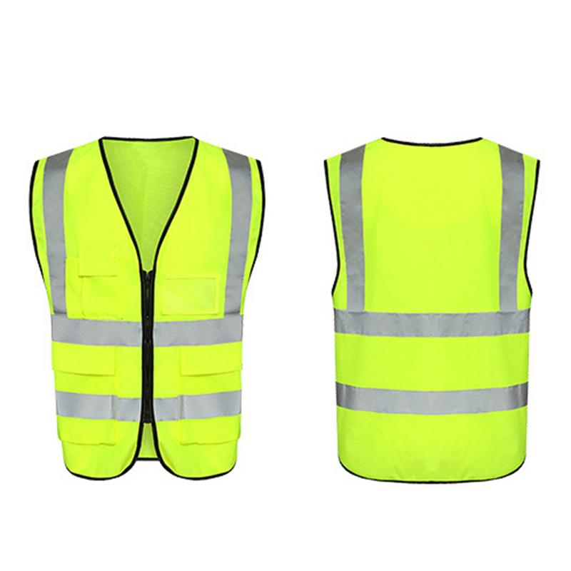Humorous Weimostar Night Safety Reflective Bike Cycling Vests Traffic Adjustable Warning Fluorescence Bicycle Vest Ride Running Equipment Cycling Vest
