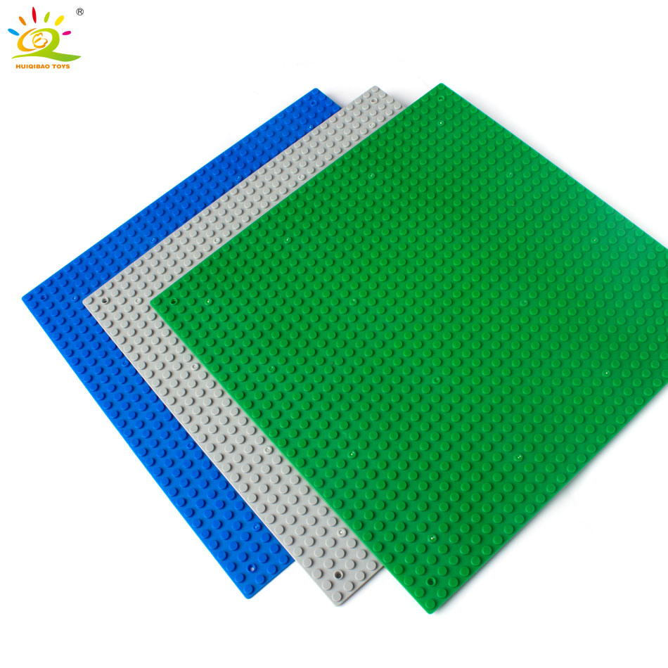 3 color 32*32 Dots Small Blocks Building DIY Baseplate Base plate Size 25*25cm Compatible with Legoed Brick DIY children Toys new 2017 updated version small bricks base plate 32 32 dots 25 5 25 5cm 10x10 diy building blocks baseplate toy figures 14 col