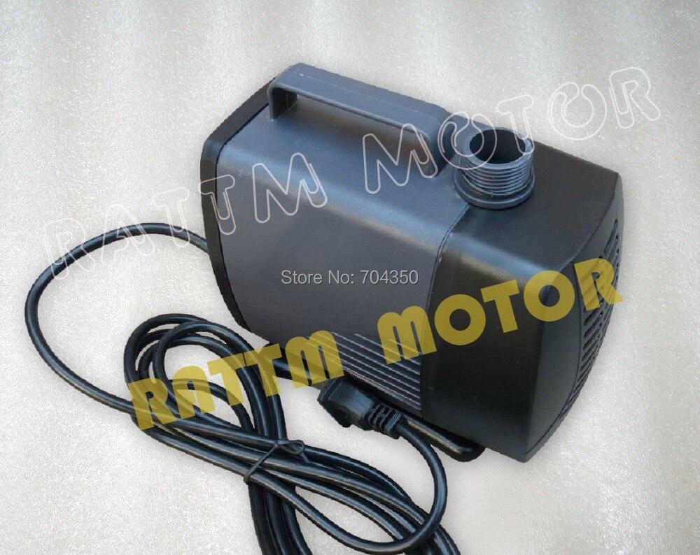 105W CNC spindle motor water pump 5m Submersible pump Engraving machine pump