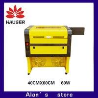 Бесплатная доставка 60 Вт 4060 co2 лазерный гравер, 220 В/100 В co2laser резки гравировальный станок лазерная маркировочная машина