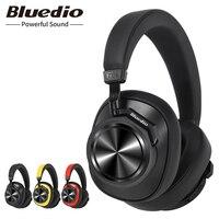 Bluedio T6S Беспроводной гарнитура Bluetooth Активный Шум наушники с шумоподавлением для телефонов Bluetooth наушники для музыки