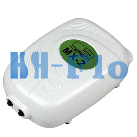 Double Hole 220v Rechargeable Mini Air Pump Oxygen Pump Electric Oxygenator For Aquarium Fish Tank Professional Design