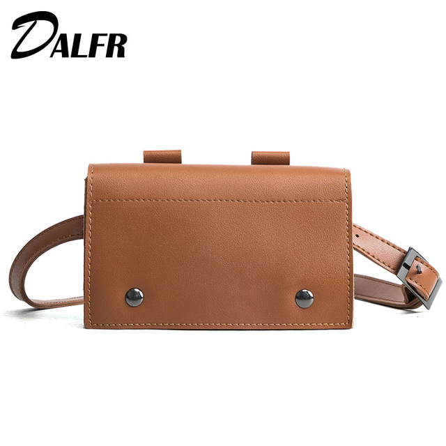 Women's Waist Bag Female Small Shoulder Bag Belt Women PU Leather Bags for Women 2018 Bolsos Mujer DALFR