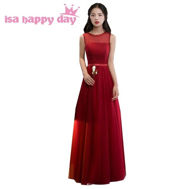 6915699e4 Dulce 16 lindo de tul rojo oscuro formal vintage modesto chicas corsé  vestidos de fiesta vestido
