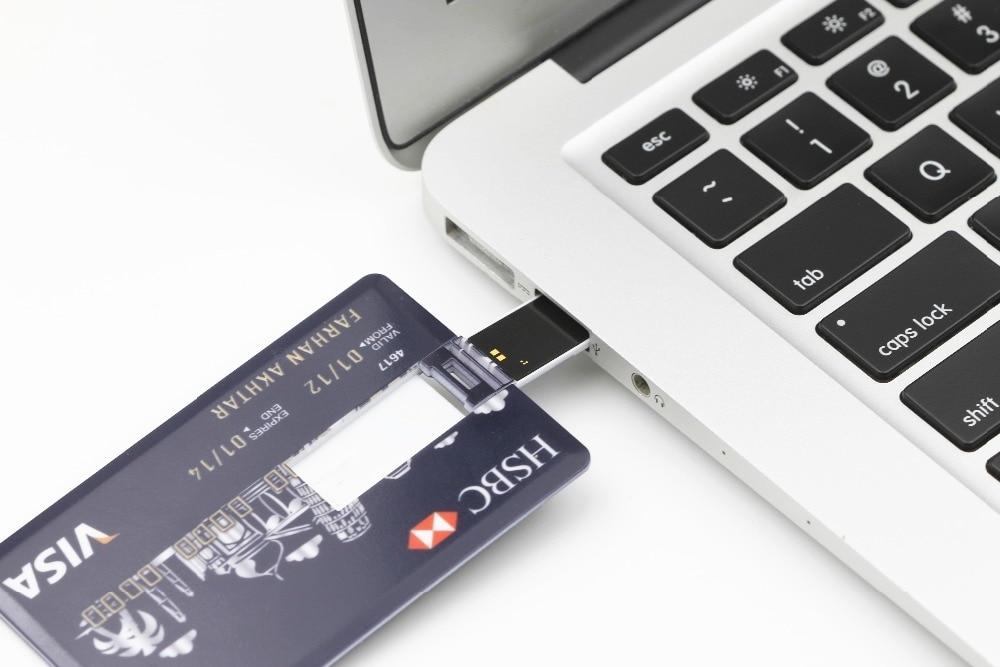 SMARE Creditcard USB Flash Drive op maat Pen drive pendrive - Externe opslag - Foto 6