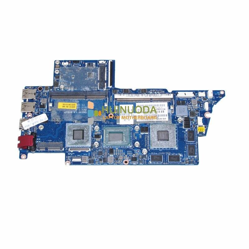 689844-001 QAU30 LA-8661P Mère D'ordinateur Portable Pour hp ENVY4 ENVY6 693234-001 intel SR0N8 i5-3317U cpu Carte Mère garantie 60 jours