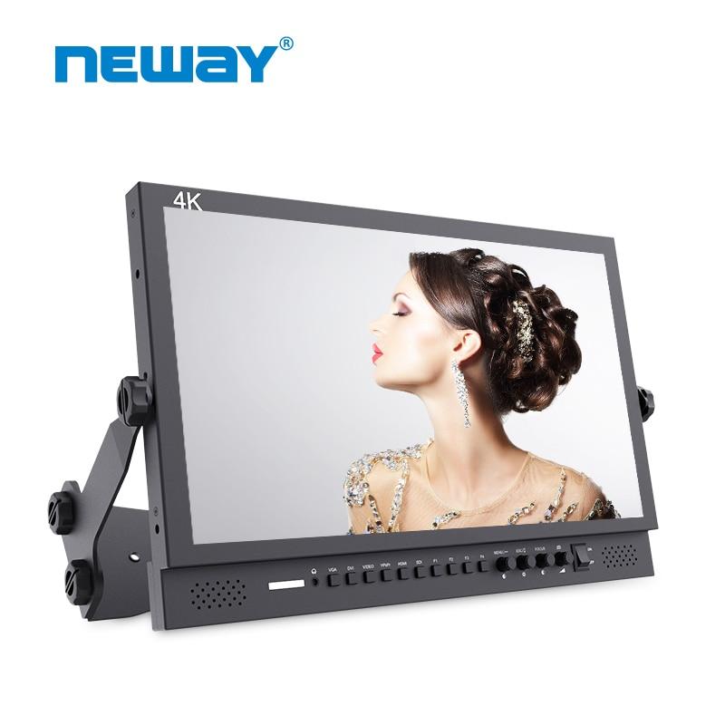 17 inch 4K HDMI 3G-SDI Broadcast Monitor