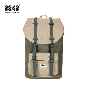 8848 Fashion Men Backpacks 15.6 USB Charging Laptop Male Mochila 20L College School Backpack Women Travel 111-006-020