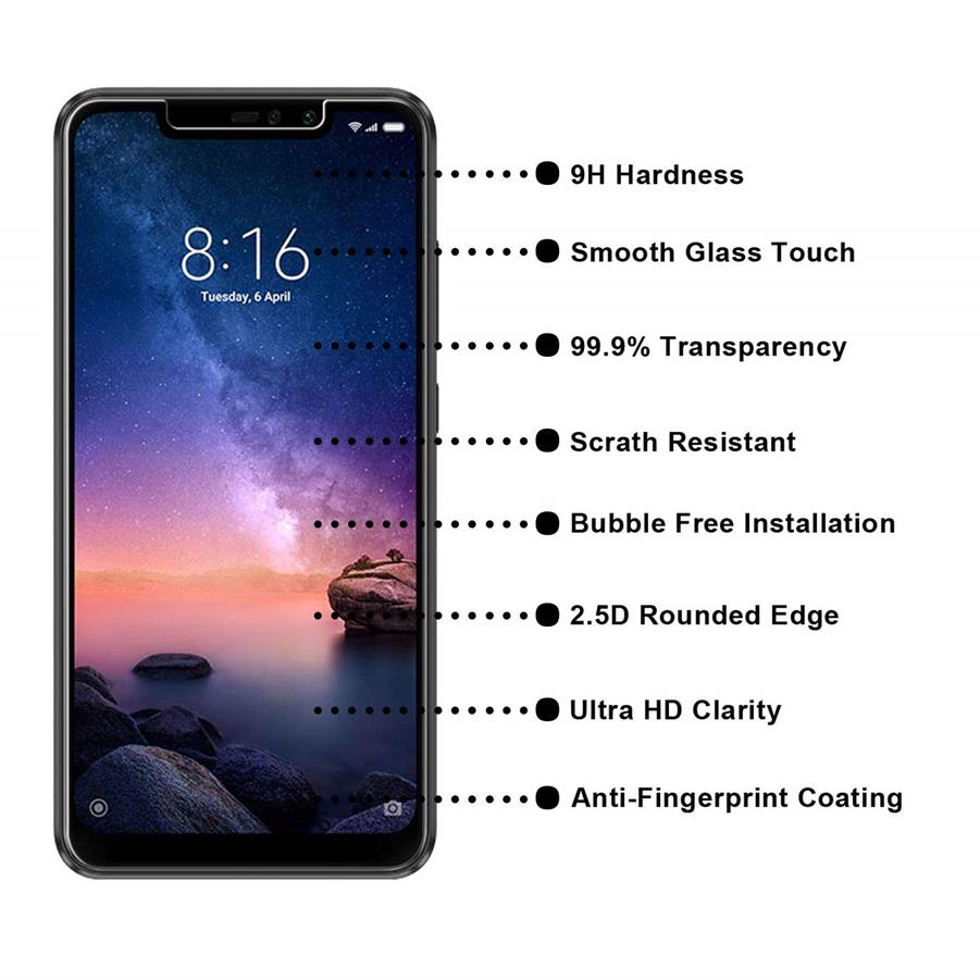 Tempered Glass Screen Protector Transparent Glass for Honor 8X 10 Lite 7X V20 10 for Huawei P20 P30 Mate 20 Pro Lite P30 Film in Phone Screen Protectors from Cellphones Telecommunications