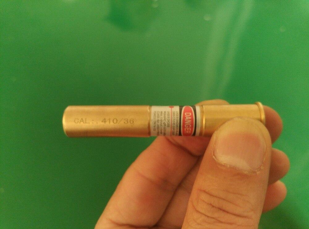 CAL: 410 Gauge Caccia Esterna Della Cartuccia Del Fucile Per Red Dot Laser Bore Sight Boresighter