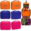 Mujer tocador bolsa Kit de maquillaje de almacenamiento impermeable Cosmetic Bag Picnic lavado bolso de corea multifuncional organizador del bolso del recorrido