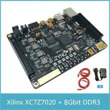 XILINX FPGA ZYNQ7020 Development Board ARM Cortex A9 ZYNQ7000 XC7Z020 2CLG  8Gbit DDR3 HDMI Ethernet + Xilinx Platform Cable USB