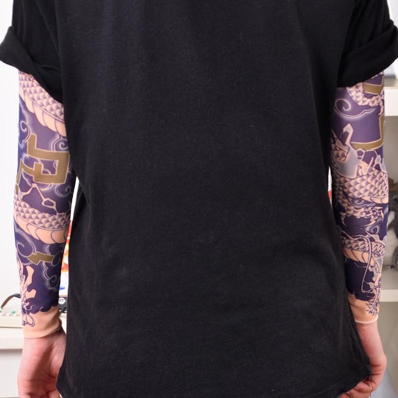 Free shipping ow hanzo oversleeve cosplay costume for Hanzo tattoo sleeve