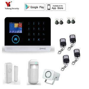 Image 2 - Yobang Security wireless wifi gsm alarm system TFT display door sensor home security alarm systems wireless Siren Kit