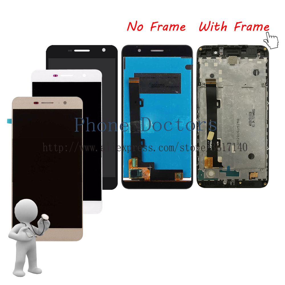 5.0'' New Full <font><b>LCD</b></font> DIsplay + Touch Screen Digitizer Assembly + Frame Cover For <font><b>Huawei</b></font> <font><b>Y6</b></font> <font><b>Pro</b></font> Y6Pro / G Powe <font><b>TIT</b></font>-<font><b>AL00</b></font> <font><b>TIT</b></font>-U02 image