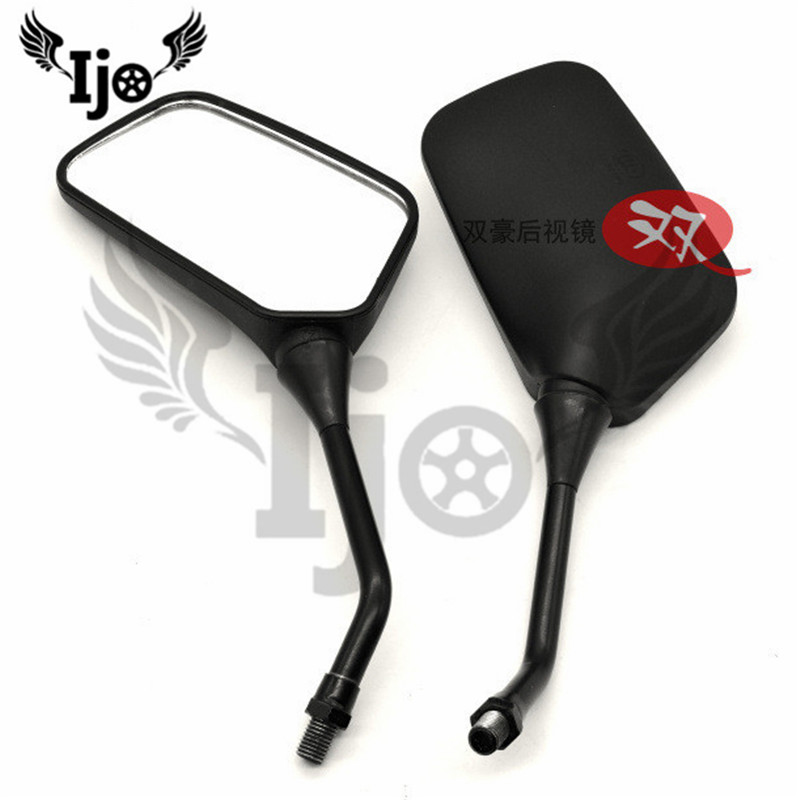 universal 8mm 10mm scooter parts motorbike side mirror for Kawasaki honda suzuki yamaha benelli motorcycle rearview mirror moto