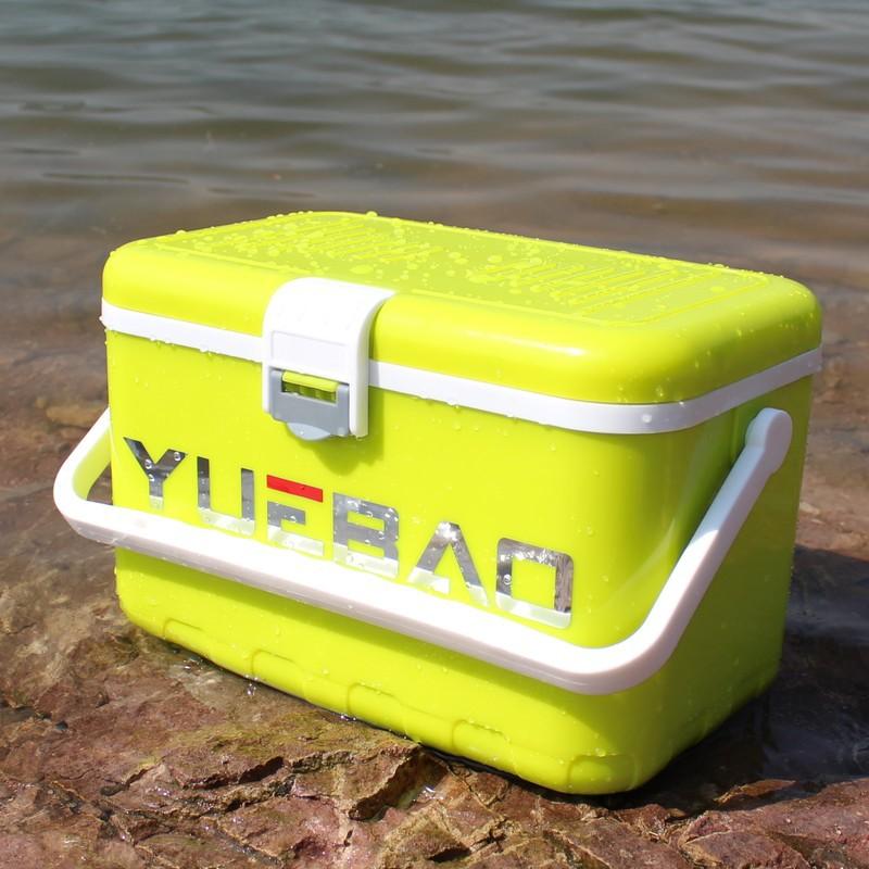 Outdoor Fishing Tackle Box Insulation Box Outdoor Car Cooler Box Ice Organizer Medicine Preservation Box