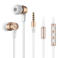 Wallytech 3 5mm Jack Stereo Earphone Headset With Mic Volume Control For IPhone6 6 Plus Samsung