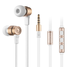 Wallytech Metal in-ear Earphones with Microphone and smart Volume Control earphone for iOS iPhone 5s 6s 6plus  fidget spinner