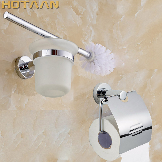 Free Shippingstainless Steel Bathroom Accessories Setpaper Holder