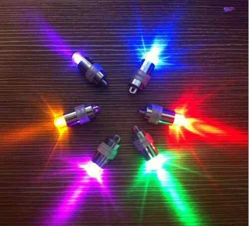 10 יחידות * אוויר ססגוניות הרבה צבעים מעורבים LED בלוני חתונת Light Up בלון קישוט מסיבת בית אור דקור ב