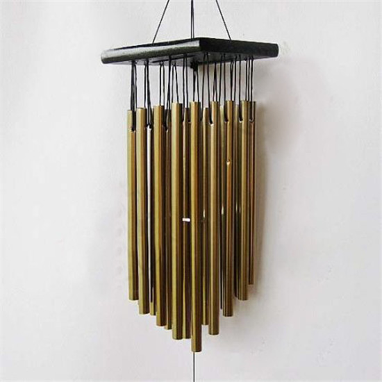 Well-known Wind Chime Metal16 Tubes Copper Tube Church Wind Chimes Outdoor  PI88