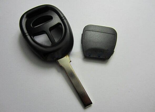 Couvercle de clé à distance pliable à 3 boutons de remplacement modifié pour porte-clés Nissan Fob