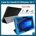 """Для Cube iwork10 ultimate случае pu Кожаный Чехол для Cube iwork 10 окончательный 10.1 """"tablet pc + free 3 подарки"""