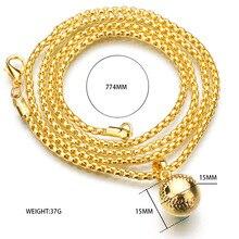 Hip-hop Necklace New York Baseball Necklace Gold Alloy Baseball Bat Pendant Chain Necklace