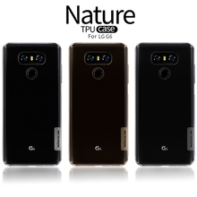 Для LG G6 ТПУ Case, ORI G инал Nillkin Nature Case для LG G 6 Soft Clear Прозрачный Back Cover Skin Feel ультратонкие Fundas Coque