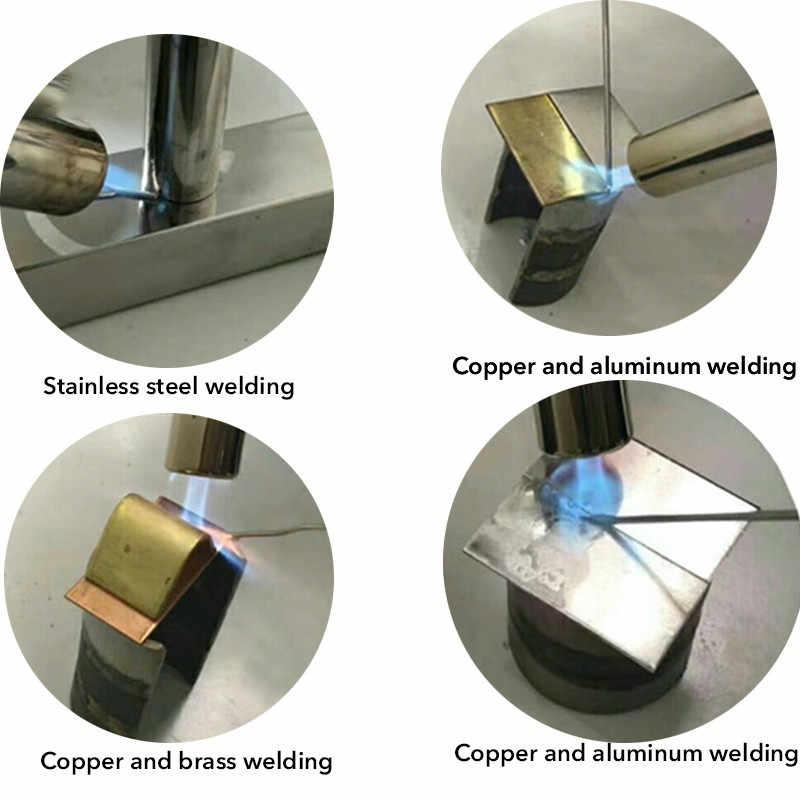 1.5/2.00mm * 5m drut spawalniczy miedziany aluminium niskotemperaturowy miedziano-aluminiowe pręty spawalnicze do aluminium, żelazo miedziana stal nierdzewna