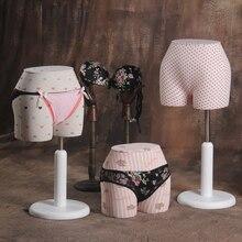 Underwear pants display mannequin half body fabric mannequin female underwear mannequin