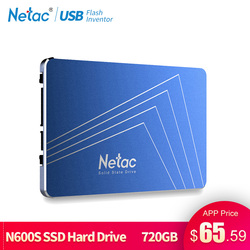 Netac SSD Hard Drive 1TB SATA3 360GB 430GB 720GB TLC Internal Solid State Drive 2.5 Laptop Drive Disk For Notebook PC Computer